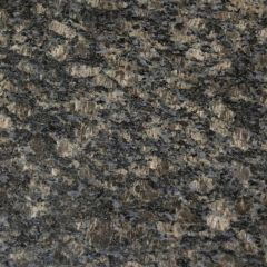 "Sapphire Brown 110"" Prefabricated Granite Kitchen Countertop"