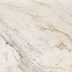 "Madrid White 110"" Prefabricated Kitchen Countertop"