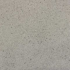 "Pietra Gray 110"" Prefabricated Quartz Kitchen Countertop"