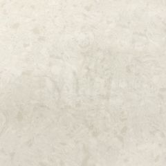 "Stratus White 110"" Prefabricated Quartz Kitchen Countertop"