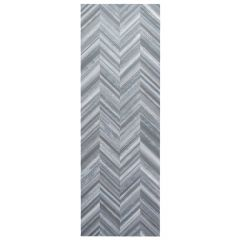 "Delice Navy 10"" x 30"" Ceramic Wall Tile"