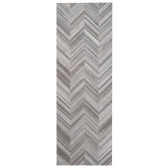 "Decor Fold Ceramic Gray 10"" x 30"" Ceramic Wall Tile"