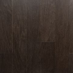 "Black Brown Oak 1/2"" x 5"" Wood Flooring"