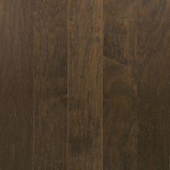 "Scraped Stone Brown 3/8"" x 6-1/2"" Hickory Wood Flooring"