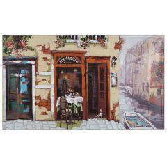 Venetian Canal Acrylic Painting