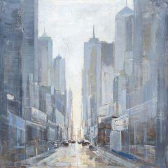 Towering Magnitude Acrylic Painting