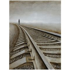 Destination Anywhere Acrylic Painting