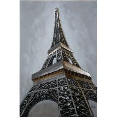 Eiffel Revealed Acrylic Painting