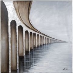 Bridge to Nowhere Acrylic Painting