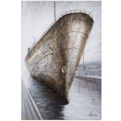 Docked Acrylic Painting