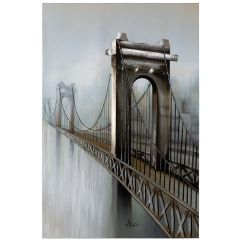 Gateway to the City Acrylic Painting