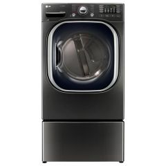 LG DLEX4370K Ultra Large Capacity TurboSteam™ Electric Dryer
