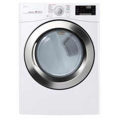 LG DLGX3701W Ultra Large Capacity Smart Wi-Fi Enabled SteamDryer™