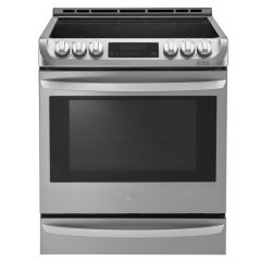 LG LSE4613ST Electric Slide-in Range with ProBake Convection® and EasyClean®
