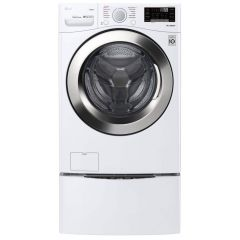 LG WM3700HWA Ultra Large Capacity Front Load Washer with Steam and Wi-Fi
