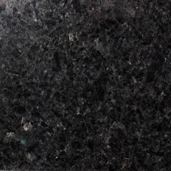 Angol Silver Black Prefabricated Granite Kitchen Countertop