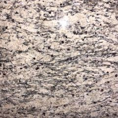 Santa Cecelia Medium Prefabricated Granite Kitchen Countertop