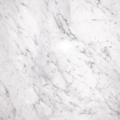 Bianco Carrara Prefabricated Marble Kitchen Countertop