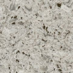 Oyster Beige Prefabricated Quartz Kitchen Countertop