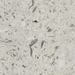 Storm White Prefabricated Quartz Kitchen Countertop