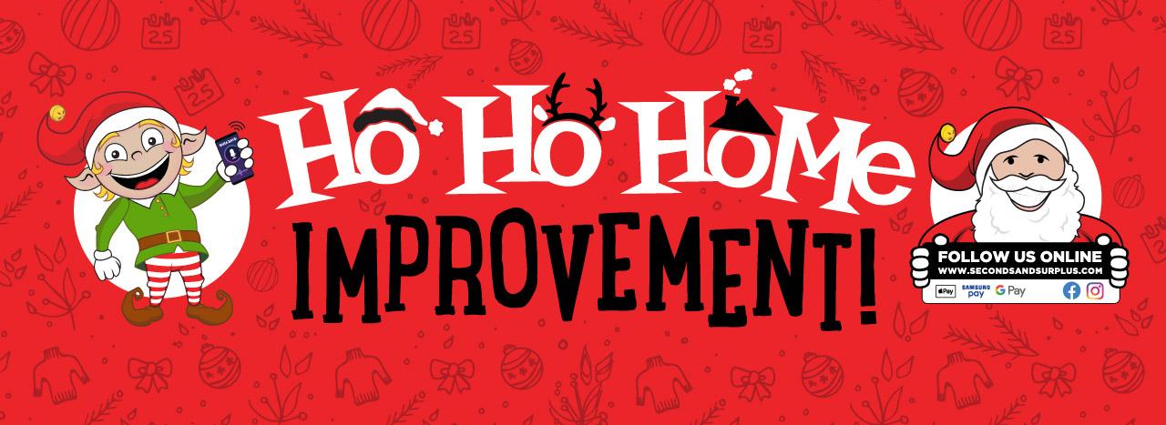 Ho-Ho-Home Improvement!