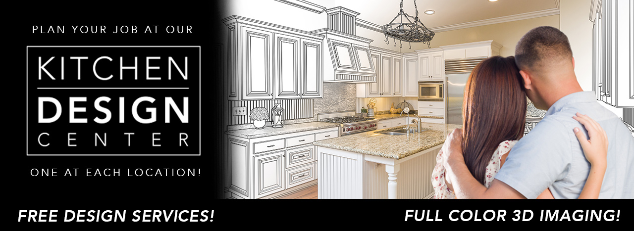 Free Kitchen Design Services at Each Location!