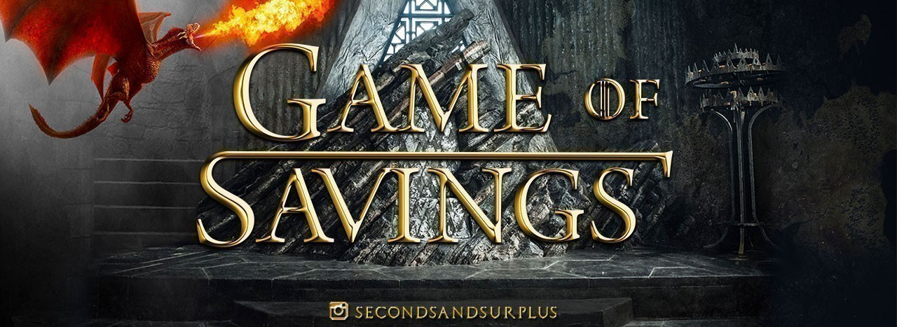Game of Savings at Seconds & Surplus!
