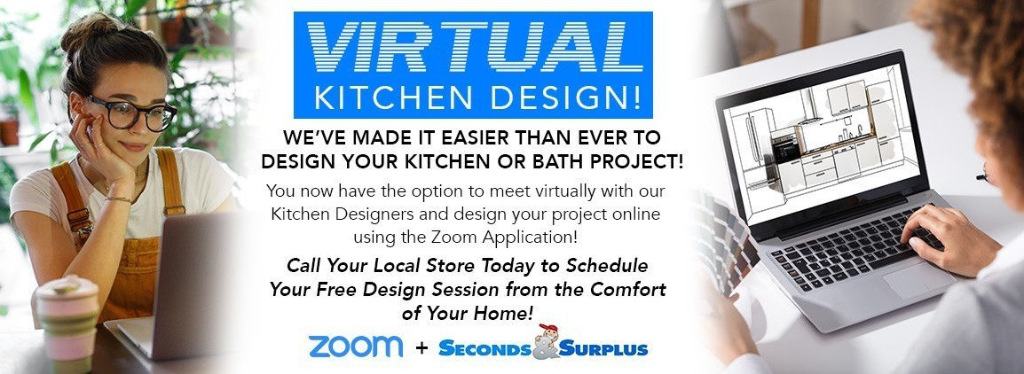 NEW! Virtual Kitchen Design Meetings!