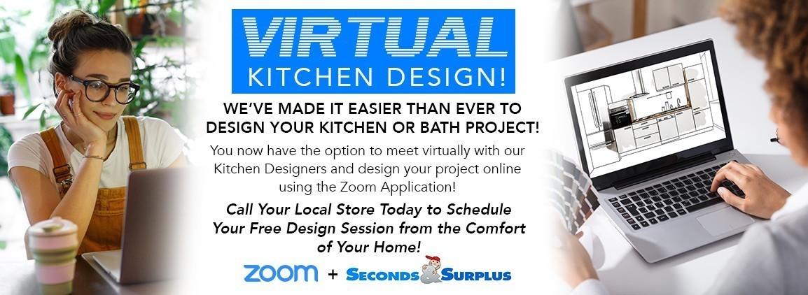 NEW! Virtual Kitchen Design Meetings!