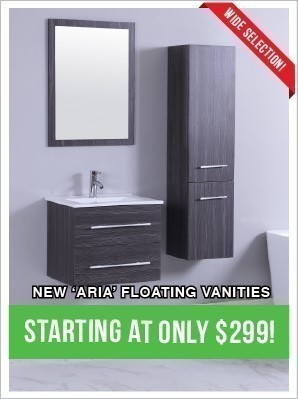 Floating Vanities from Only $299!