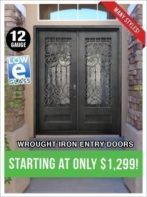 Iron Doors from $1,299!