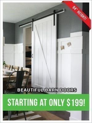 Beautiful Barn Doors from $199!