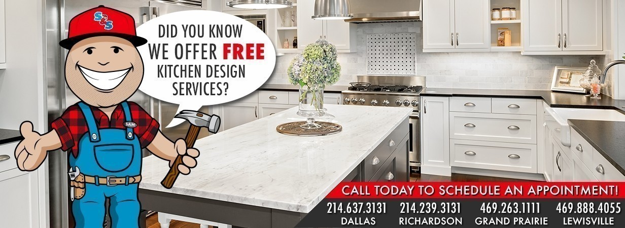 Did You Know We Offer FREE Kitchen Design Services?