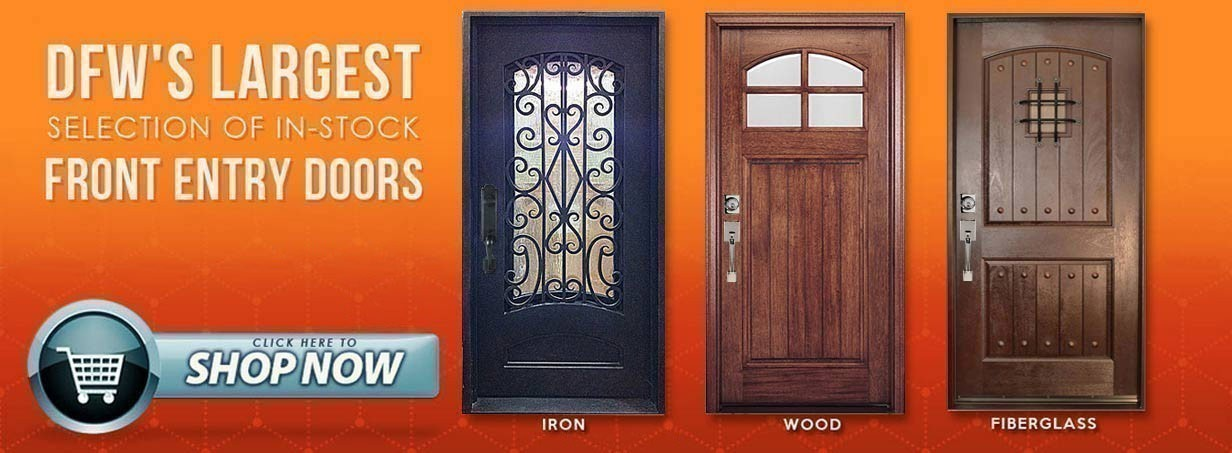 Shop DFW's Largest In-Stock Door Selection!