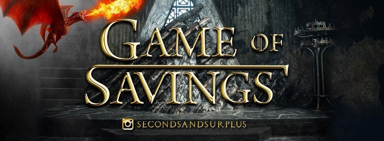 Game of Savings at S&S!