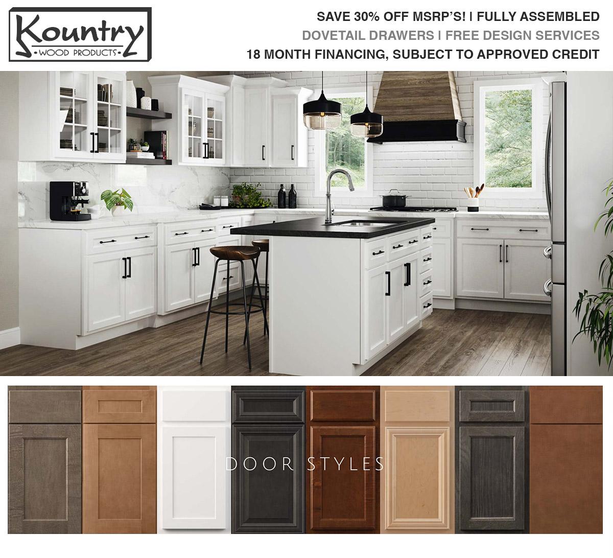 Kountrywood Cabinets