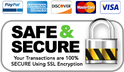 Safe & Secure Shopping at S&S Using SSL Encryption!