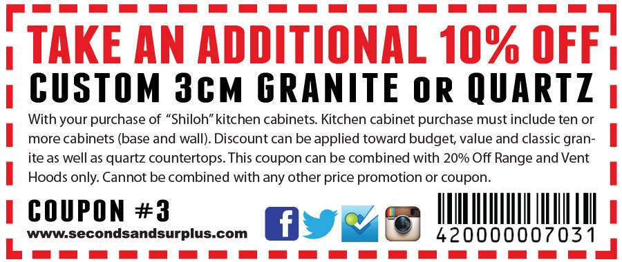10% Off Granite and Quartz!