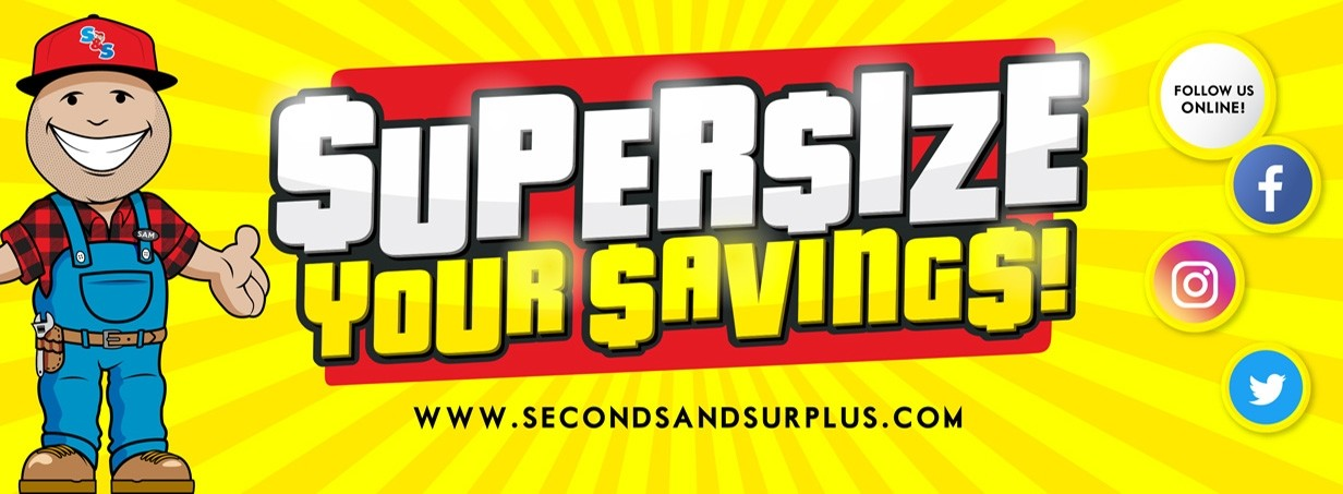 Supersize Your Savings at S&S!