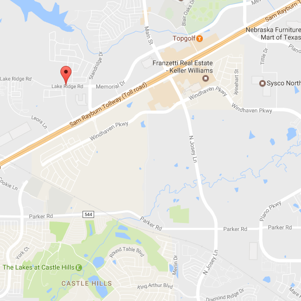 Map Lewisville Location